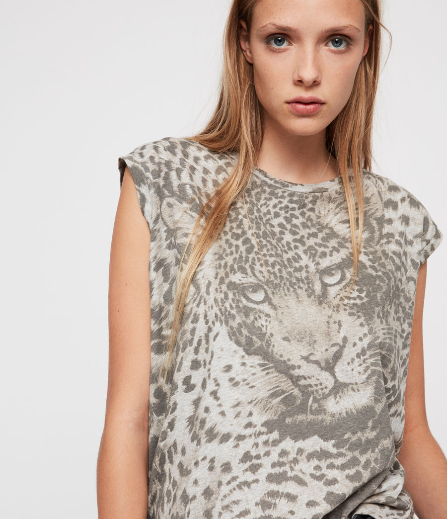 Donne T-shirt Pardos Brooke (light_grey_marl) - Image 2