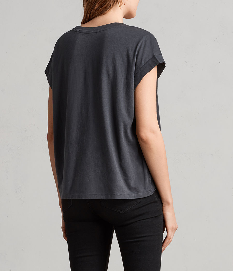 Damen Lovers Pina T-Shirt (slate_grey) - Image 4