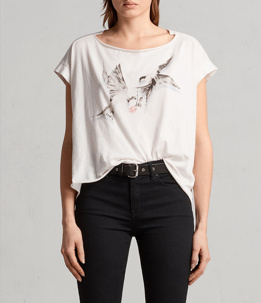 Womens Lovers Pina Tee (washed) - Image 1