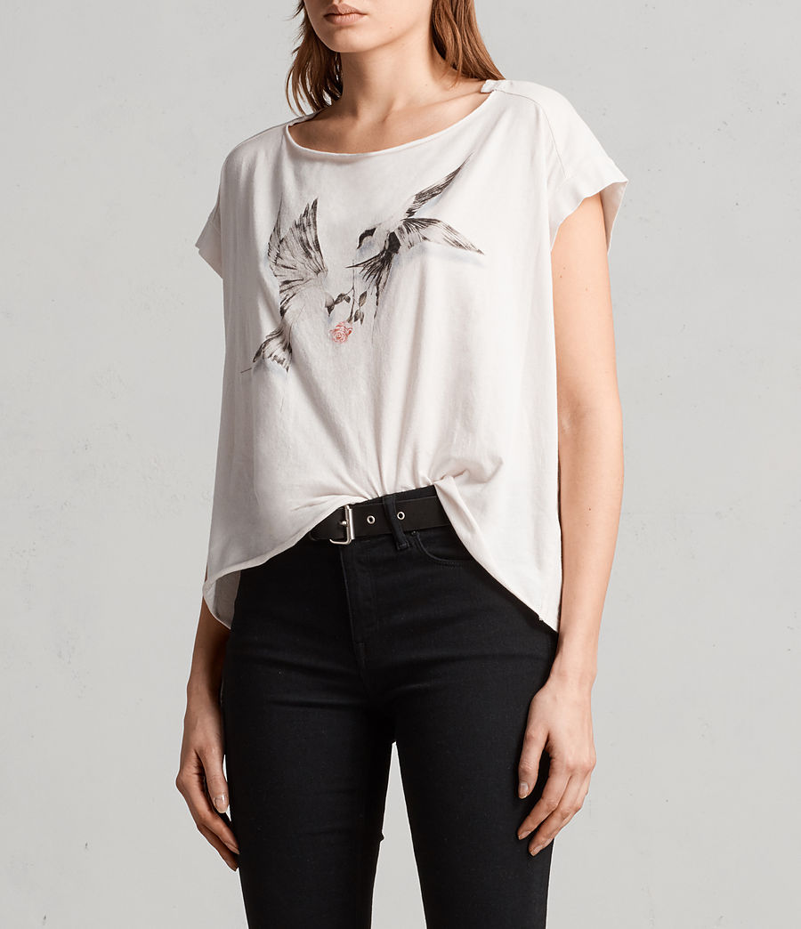 Womens Lovers Pina Tee (washed) - Image 3