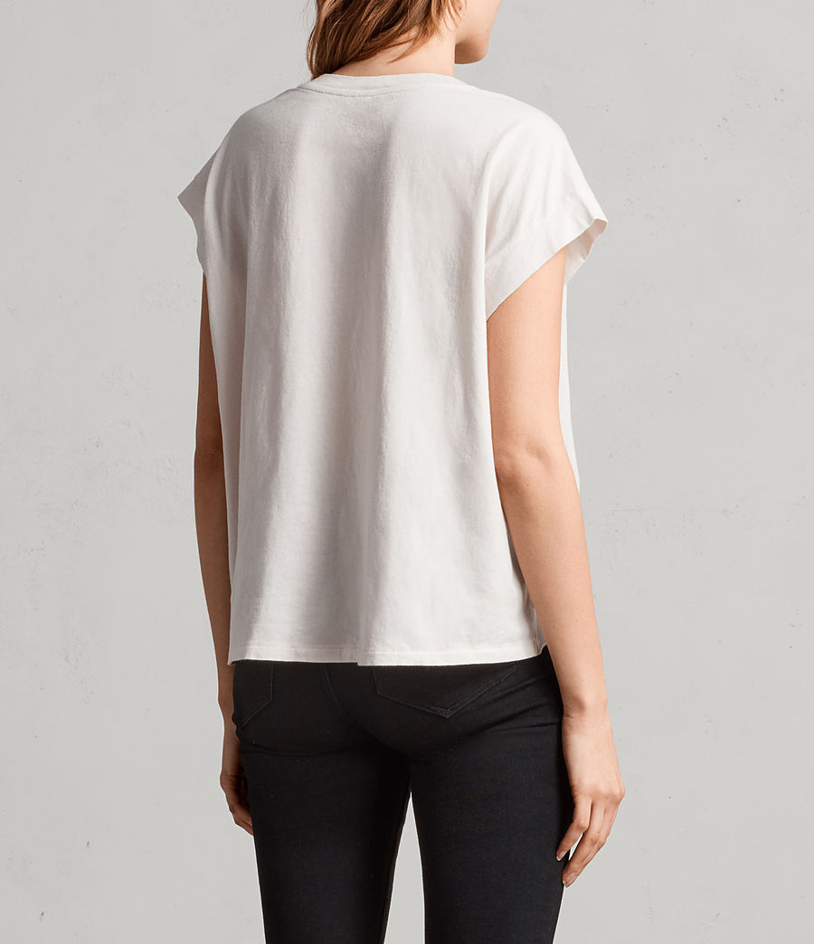 Womens Lovers Pina Tee (washed) - Image 4