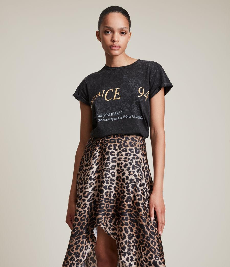Women's Lep Anna T-Shirt (vintage_black) - Image 1