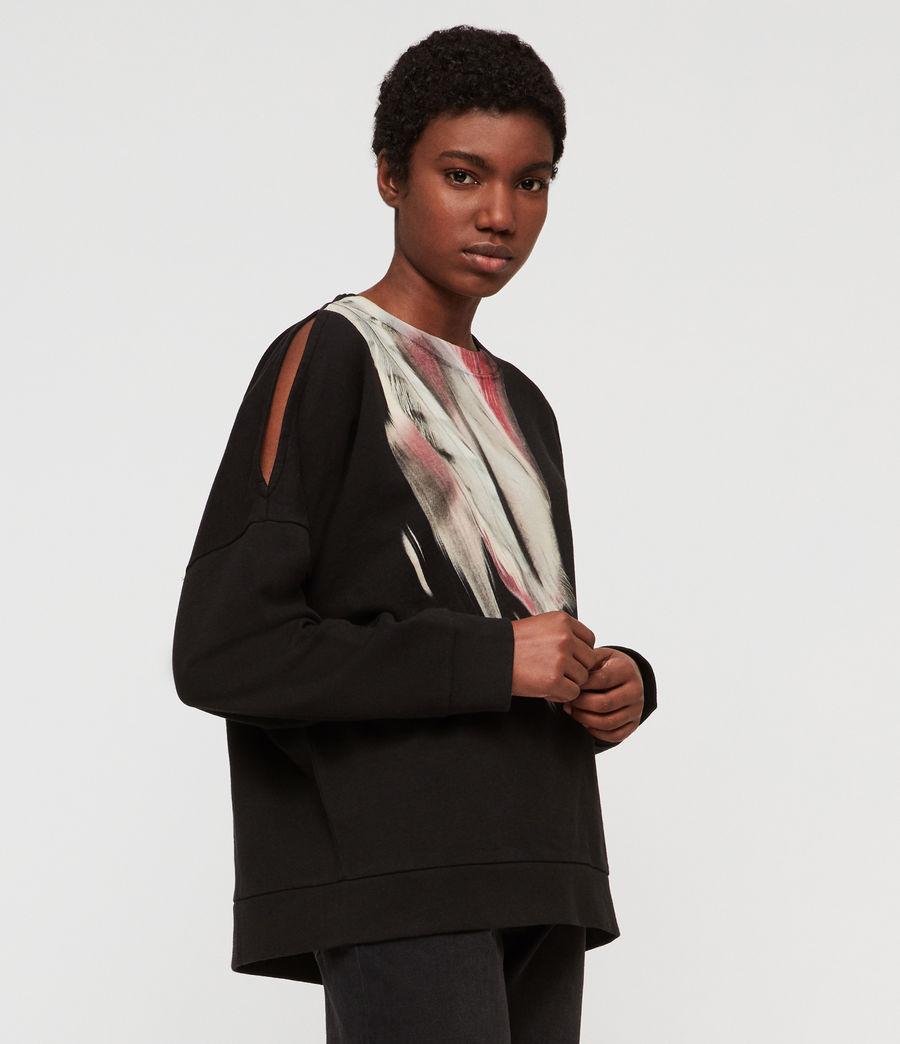 Womens Penna Unai Sweatshirt (black) - Image 1