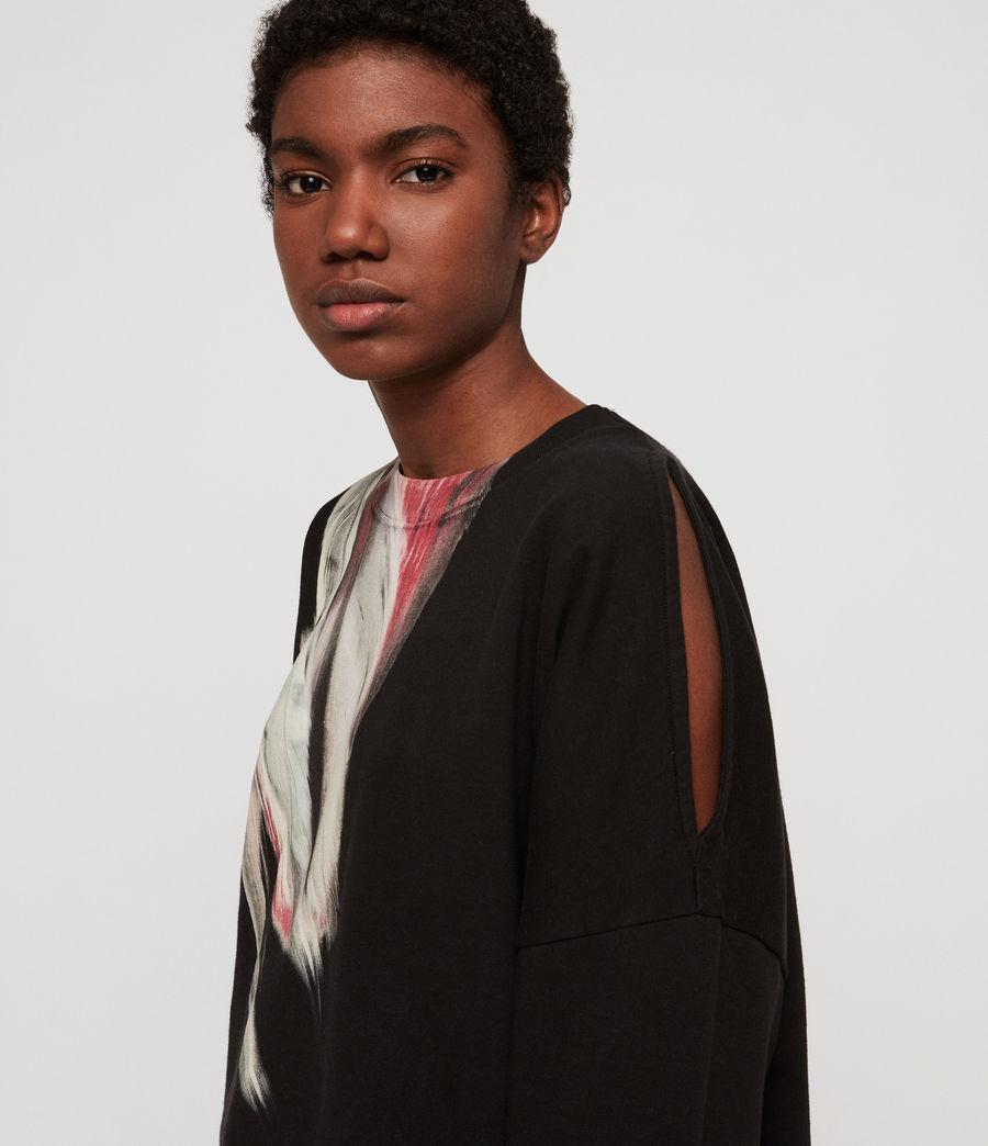Womens Penna Unai Sweatshirt (black) - Image 2
