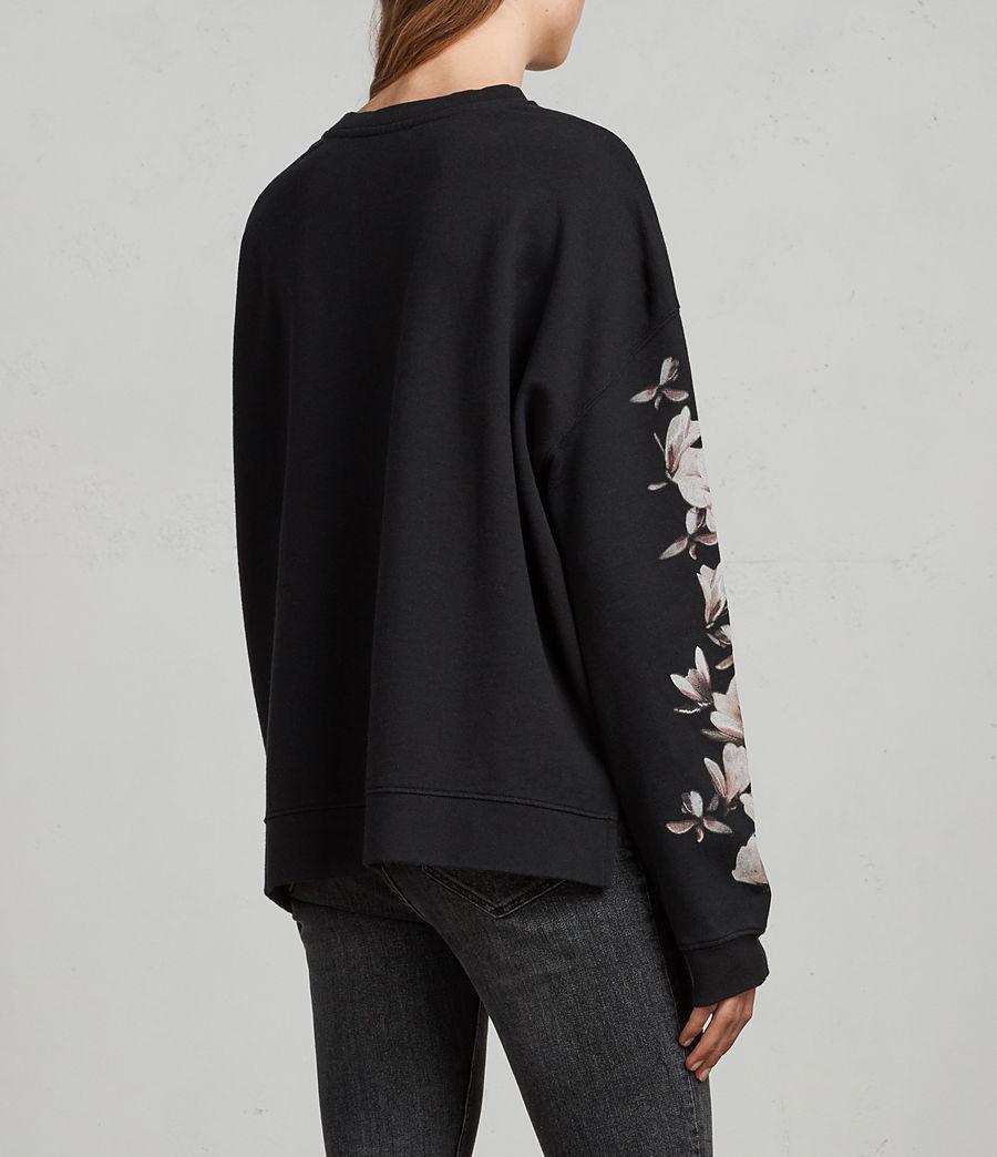 Damen Magnolia Lo Sweatshirt (black) - Image 4