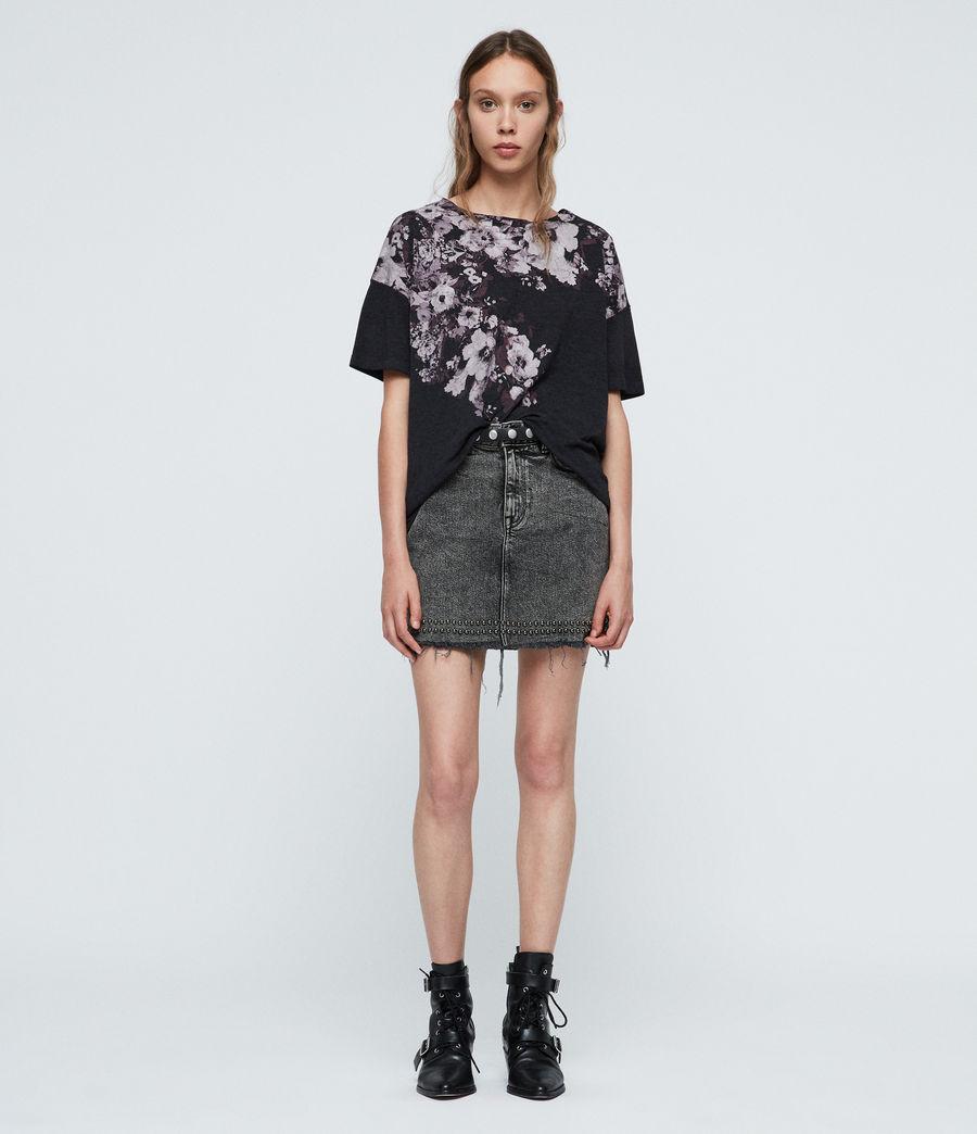 Donne Lore Cori T-Shirt (dark_night_blue) - Image 1