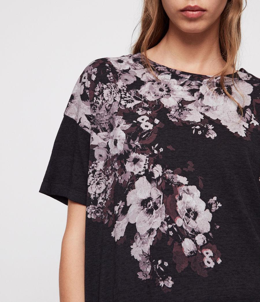 Donne Lore Cori T-Shirt (dark_night_blue) - Image 2