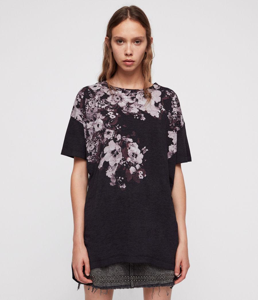 Donne Lore Cori T-Shirt (dark_night_blue) - Image 3