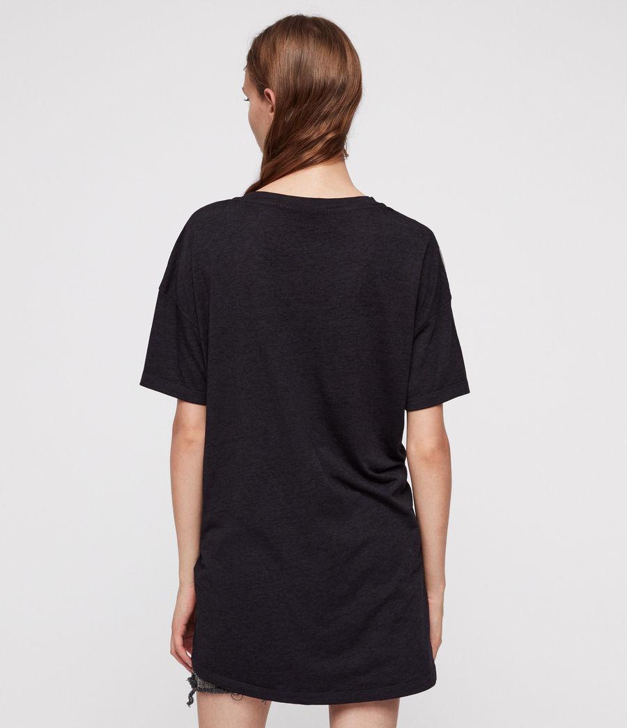 Donne Lore Cori T-Shirt (dark_night_blue) - Image 4