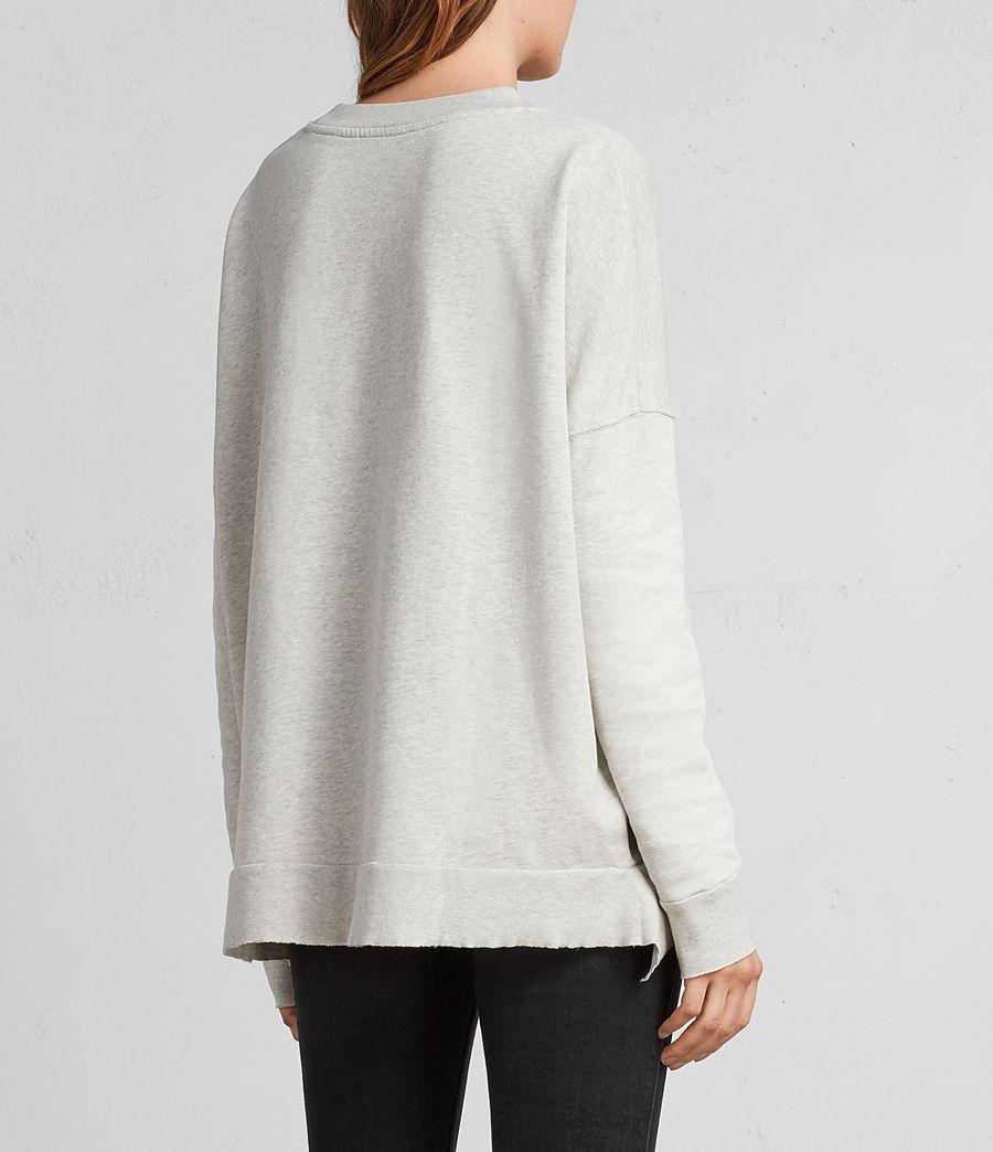 Women's Shy Iva Crew Sweatshirt (light_grey_marl) - Image 5