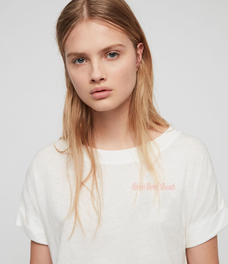 Damen Allgood Imogen Boy T-Shirt (chalk_white) - Image 2