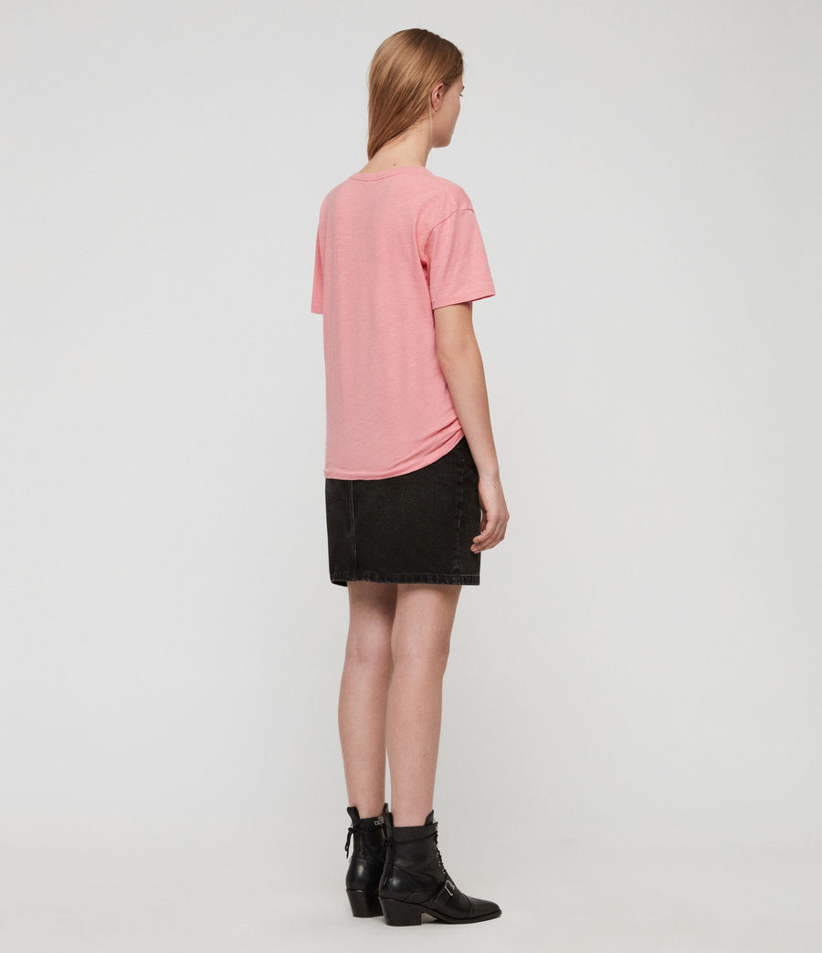 Damen Pop Mic T-Shirt (pink) - Image 4