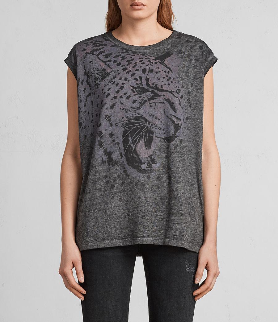 Mujer Camiseta Sabre Brooke (ash_black) - Image 1
