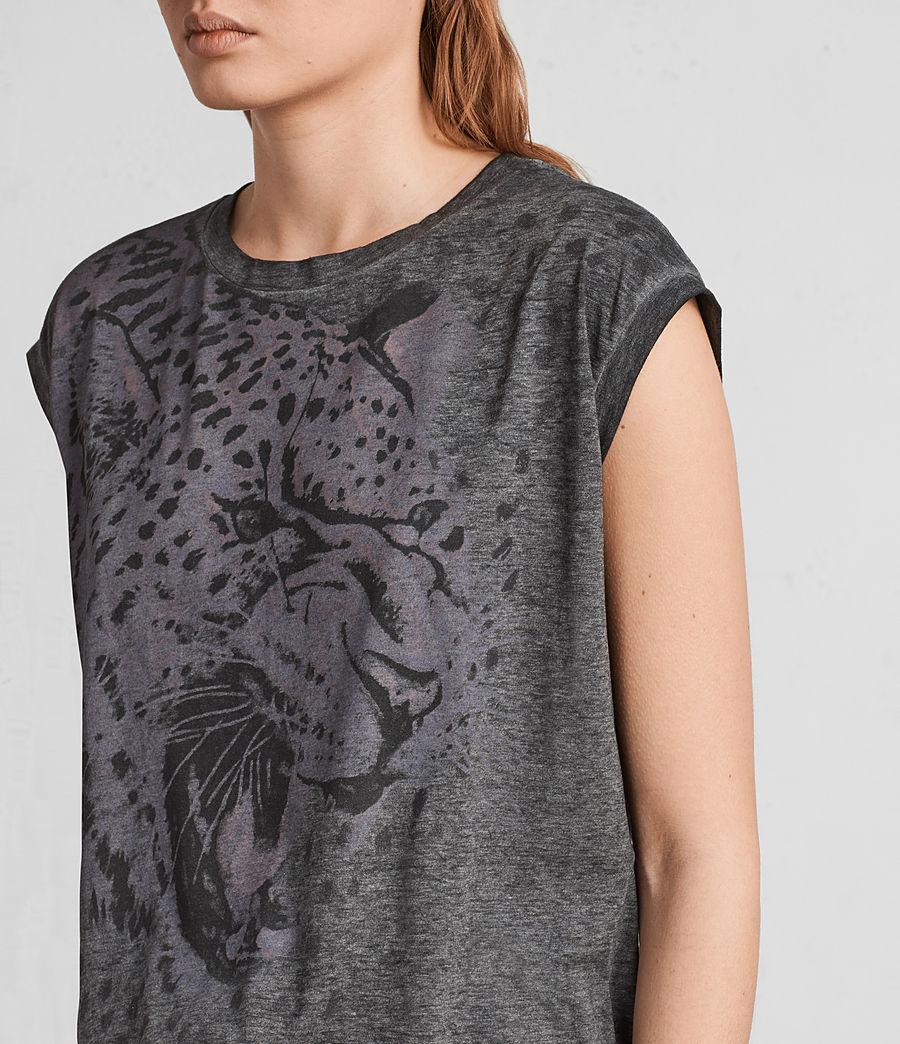 Mujer Camiseta Sabre Brooke (ash_black) - Image 2