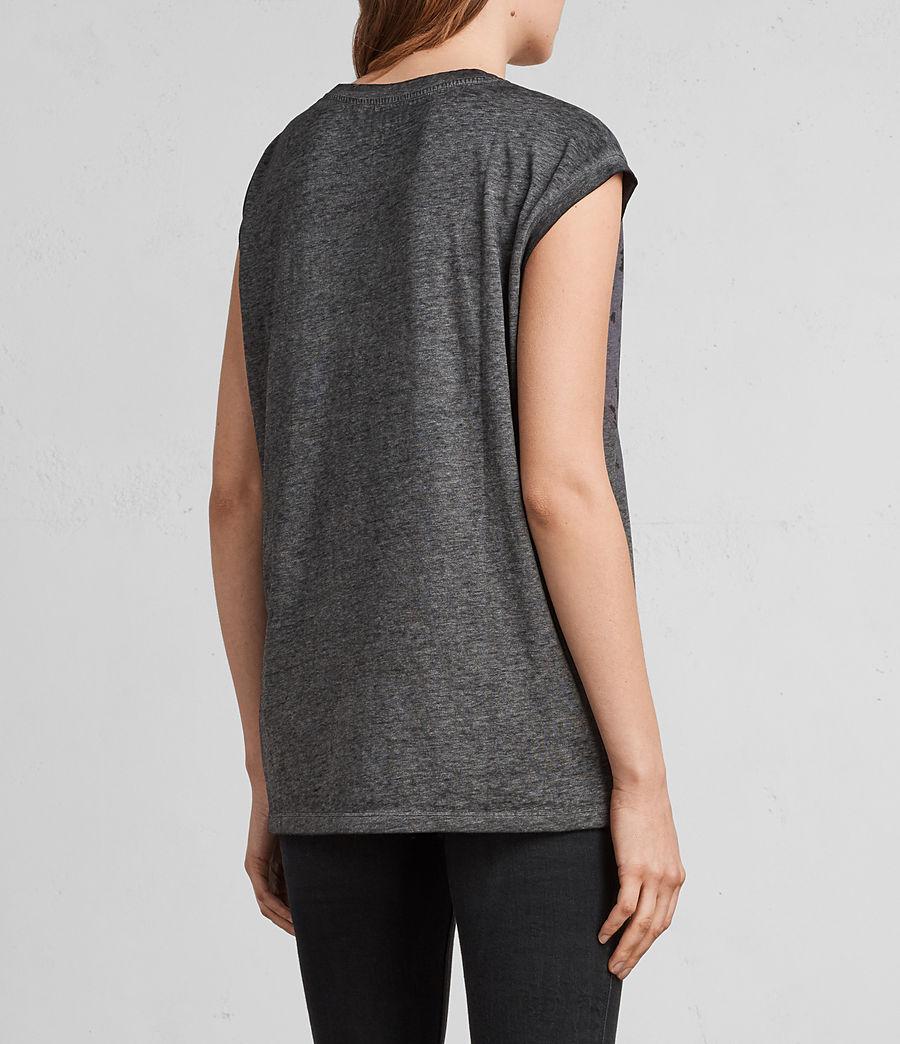 Mujer Camiseta Sabre Brooke (ash_black) - Image 4