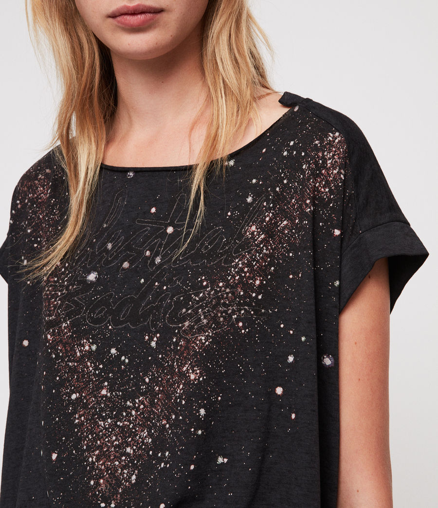 Femmes T-Shirt Pina Celestial (dark_night_blue) - Image 2