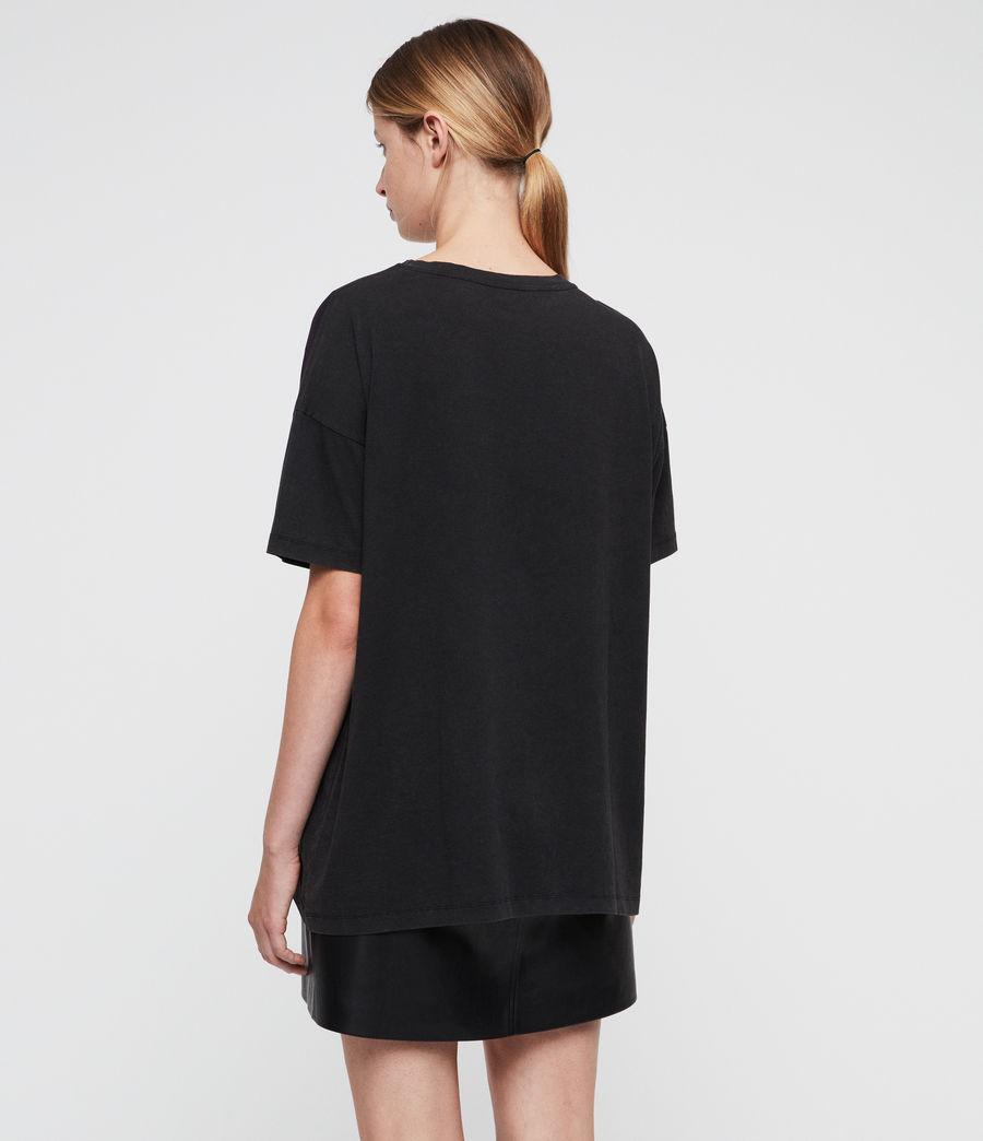 Womens Celestial Cori T-Shirt (black) - Image 4