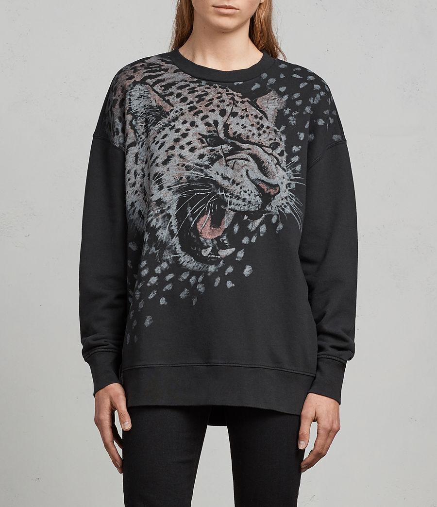 Women's Sabre Joy Sweatshirt (black) - Image 1