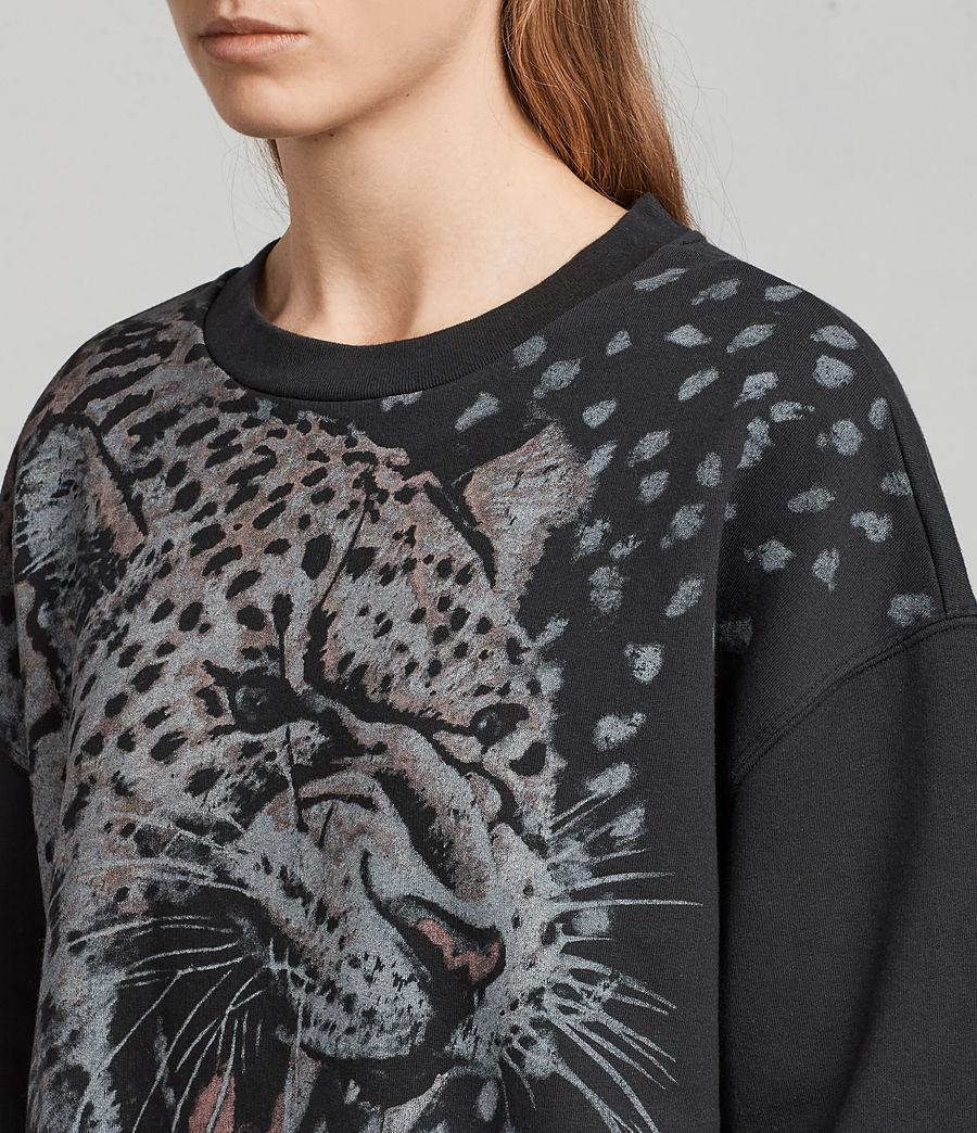 Women's Sabre Joy Sweatshirt (black) - Image 2