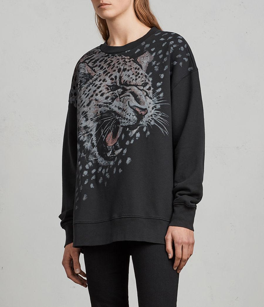 Women's Sabre Joy Sweatshirt (black) - Image 3