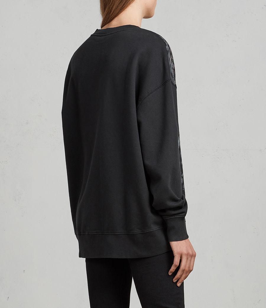Women's Sabre Joy Sweatshirt (black) - Image 4