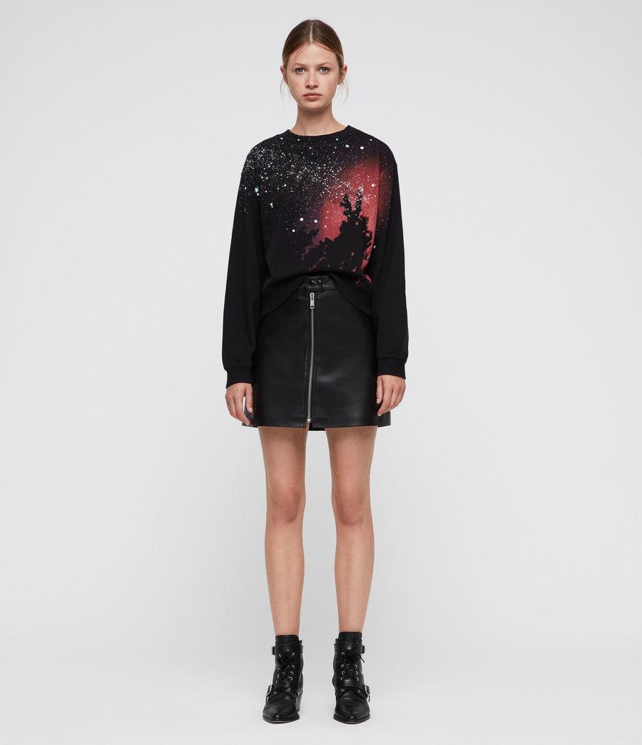 Mujer Celestial Tia Sweatshirt (vintage_black) - Image 3