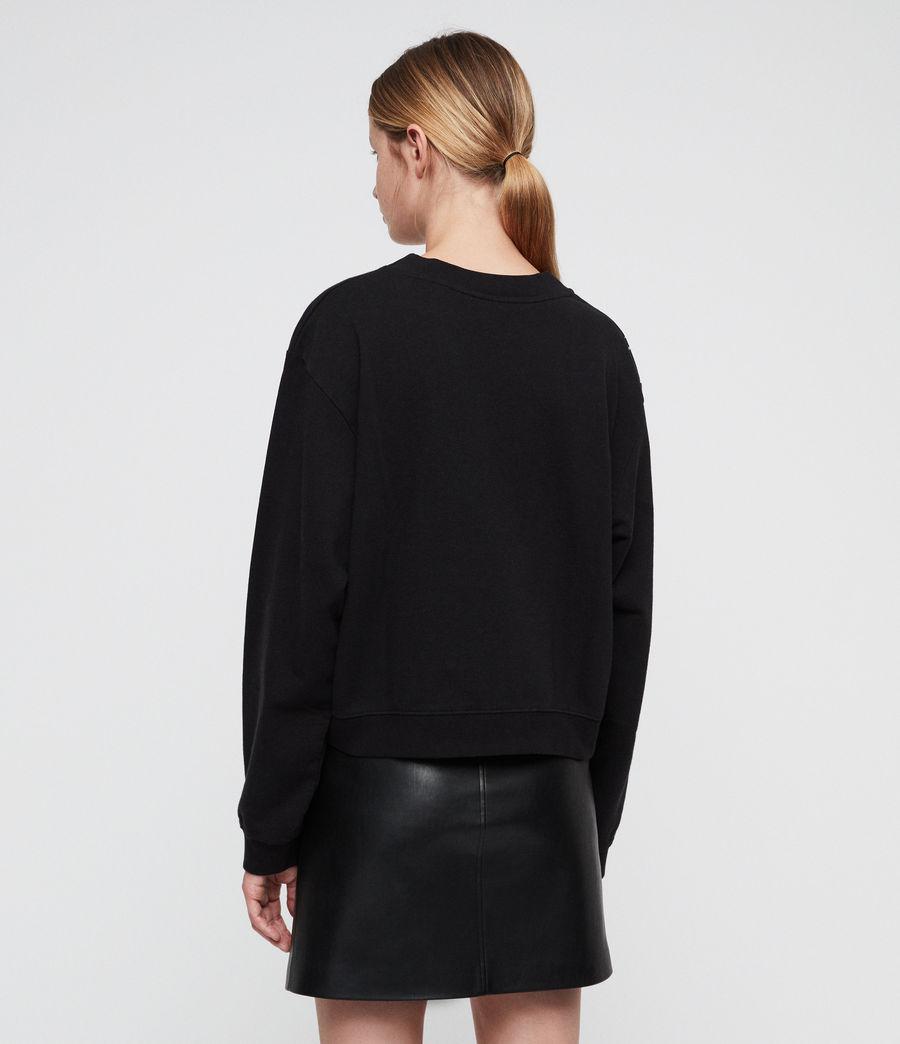 Mujer Celestial Tia Sweatshirt (vintage_black) - Image 4