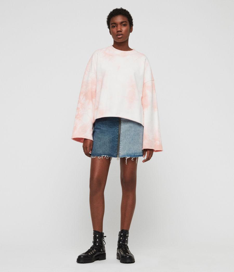 Women's Dyetie Simmi Sweatshirt (pink_chalk_white) - Image 1
