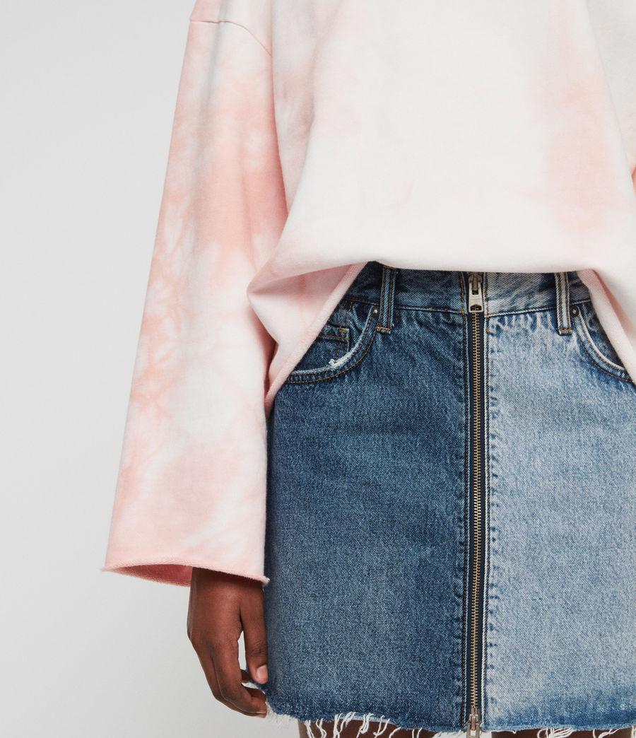 Women's Dyetie Simmi Sweatshirt (pink_chalk_white) - Image 4