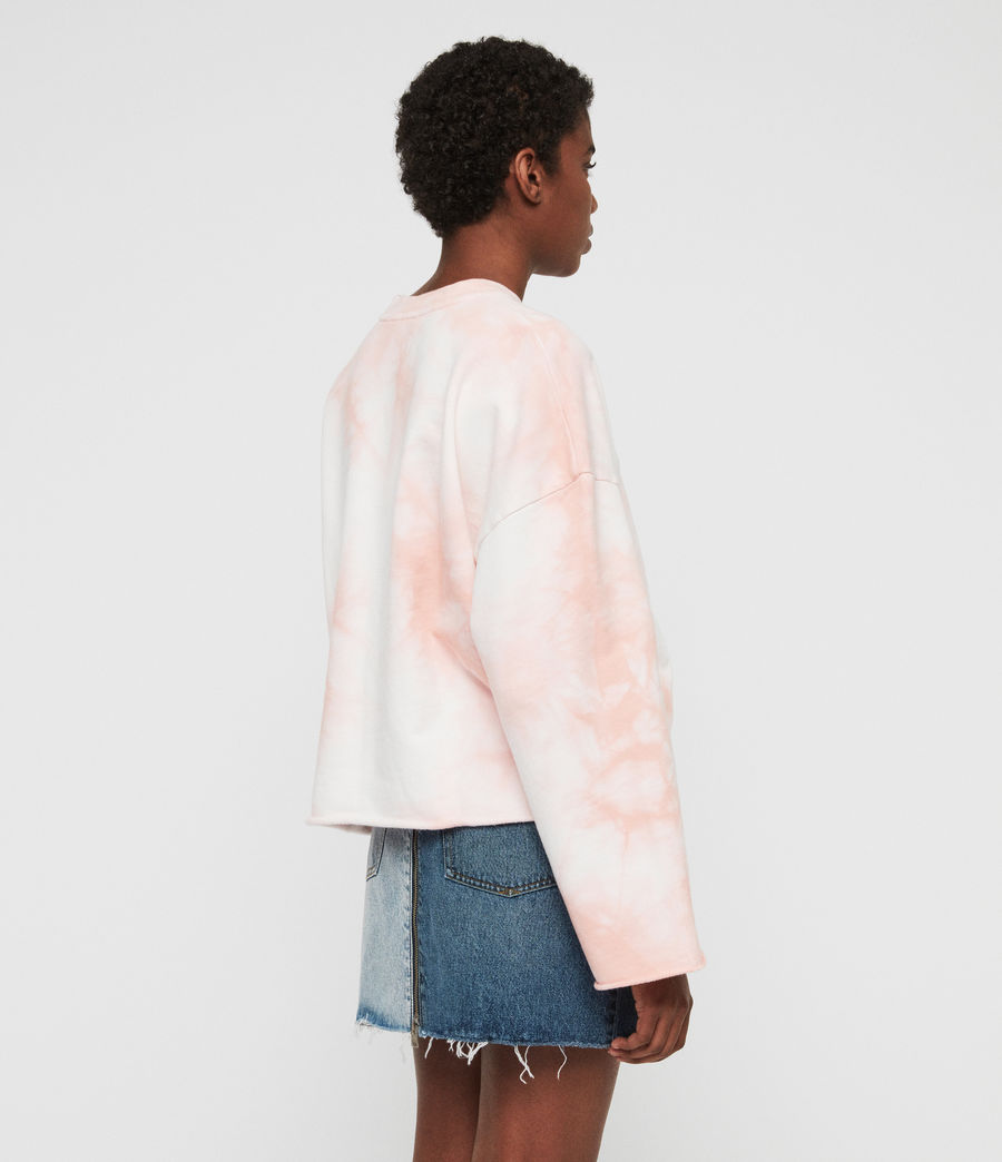 Women's Dyetie Simmi Sweatshirt (pink_chalk_white) - Image 5