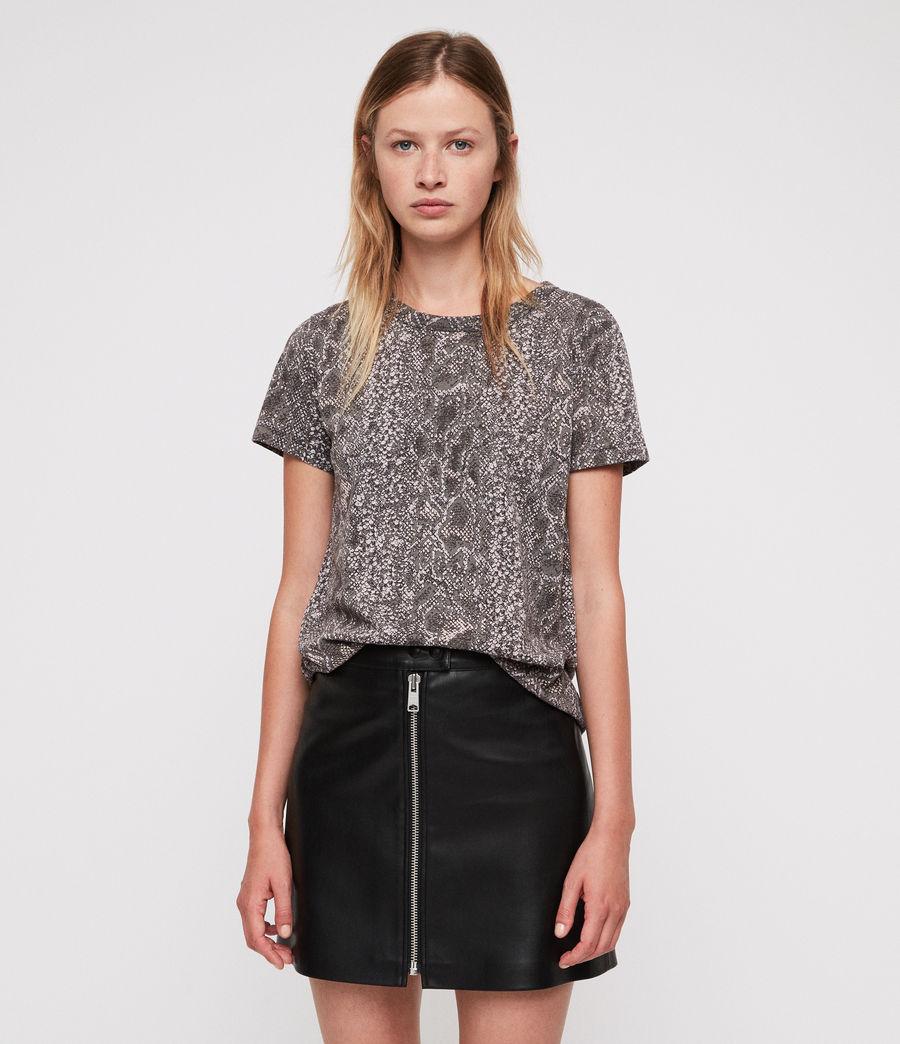 Womens Kaa Joy T-Shirt (fadeout_black) - Image 1