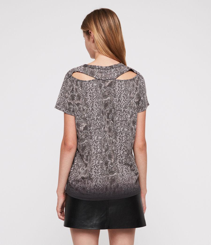 Womens Kaa Joy T-Shirt (fadeout_black) - Image 2