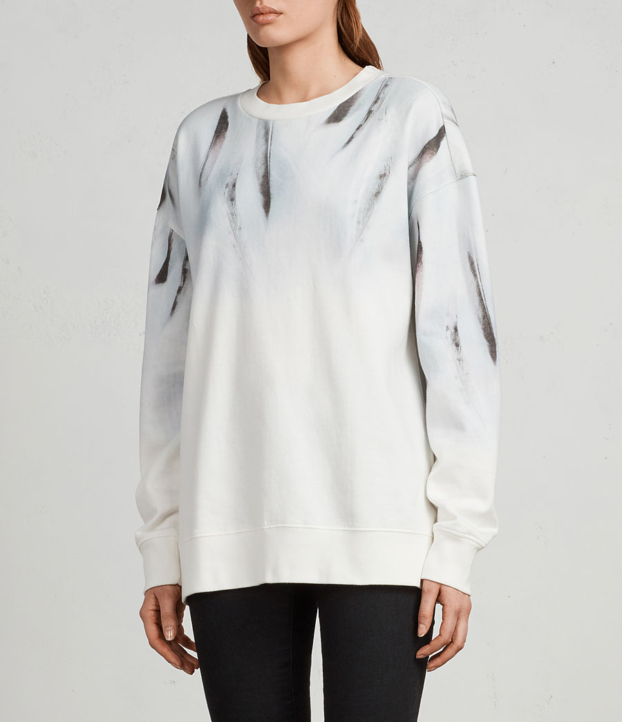 Damen Plume Joy Sweatshirt (chalk_white) - Image 3