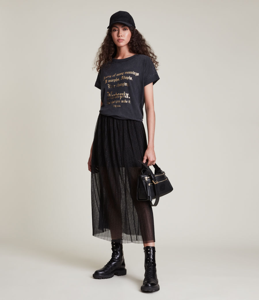 Women's Make It Imogen Boy T-Shirt (vintage_black) - Image 1