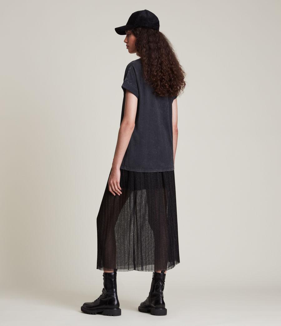 Women's Make It Imogen Boy T-Shirt (vintage_black) - Image 4