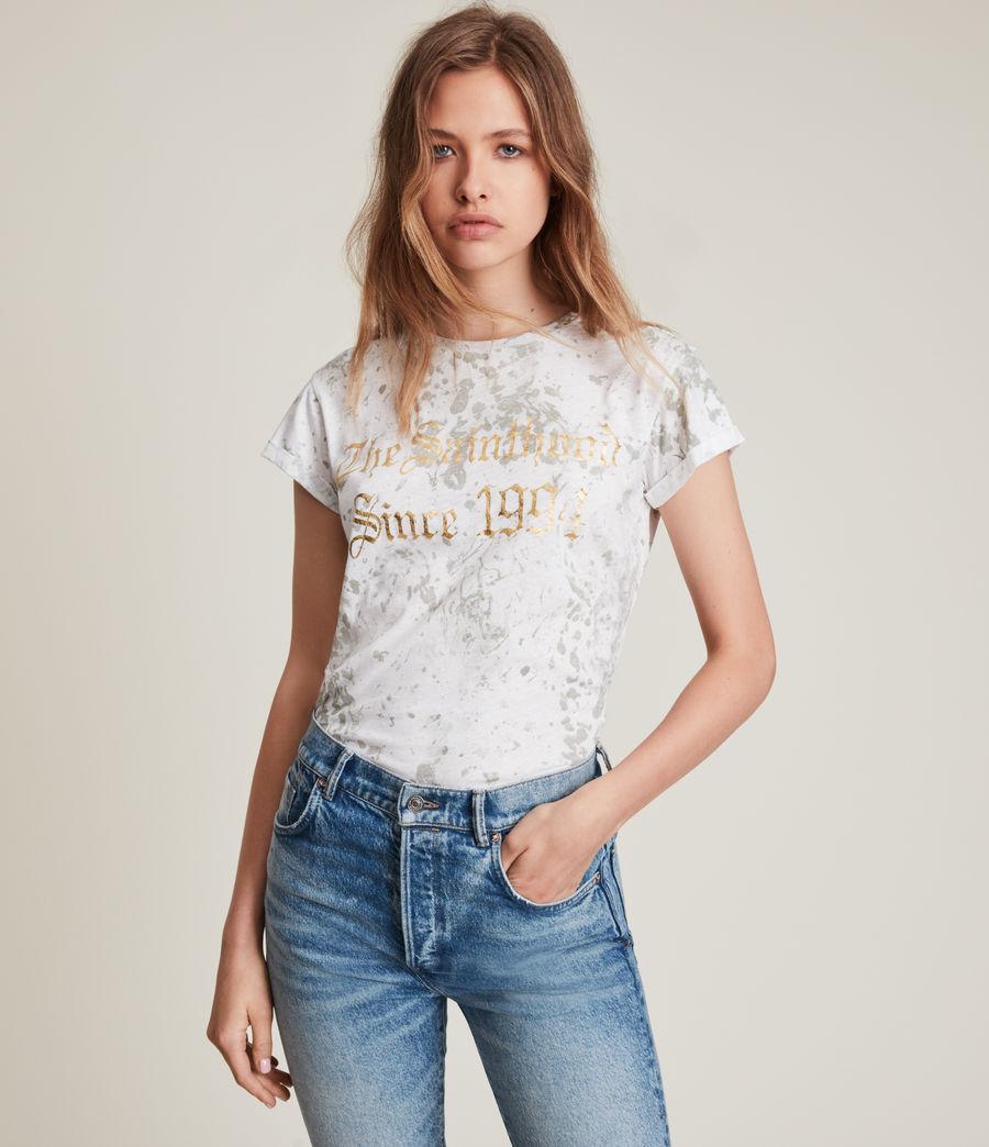 Damen Portland Anna T-Shirt (optic_white) - Image 1
