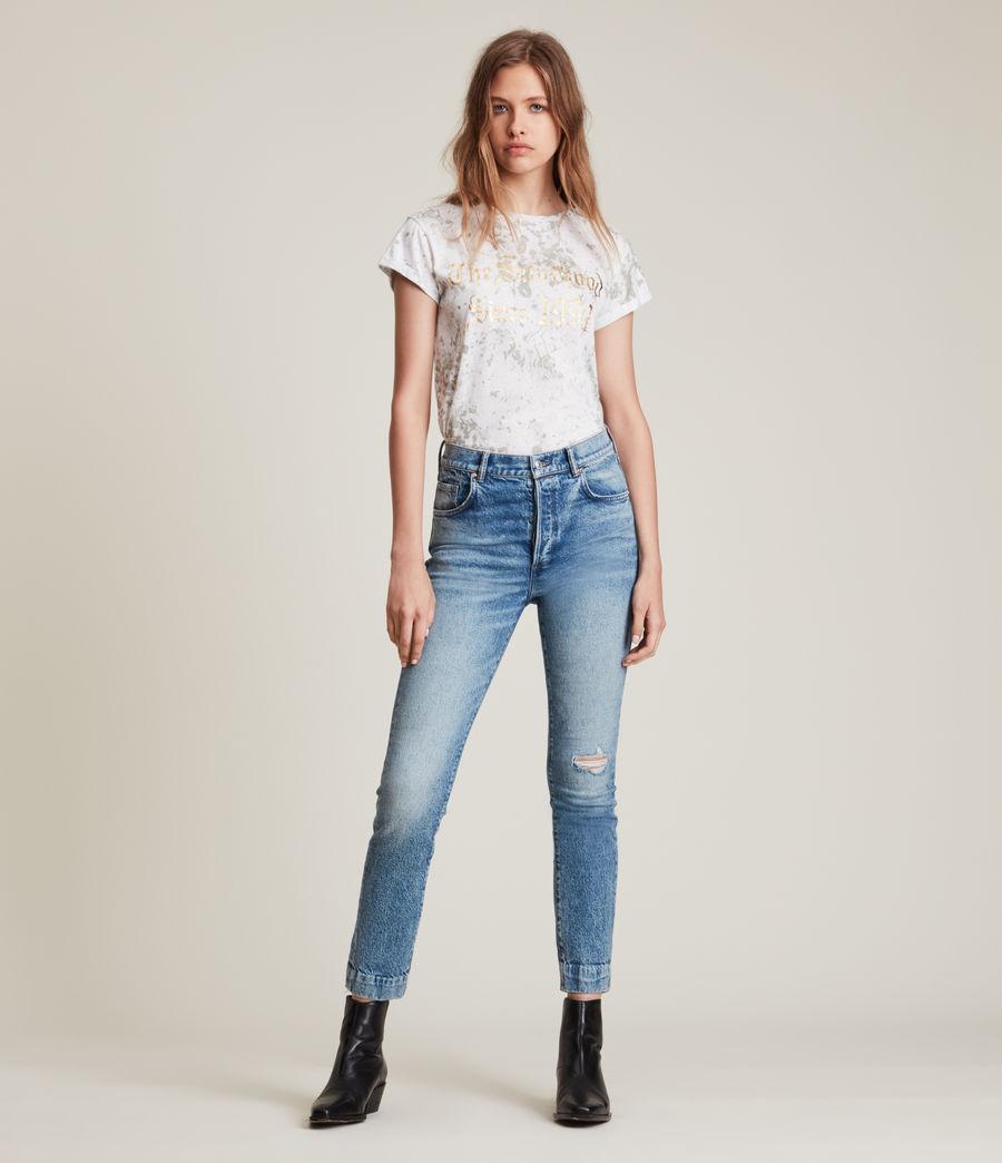 Damen Portland Anna T-Shirt (optic_white) - Image 4