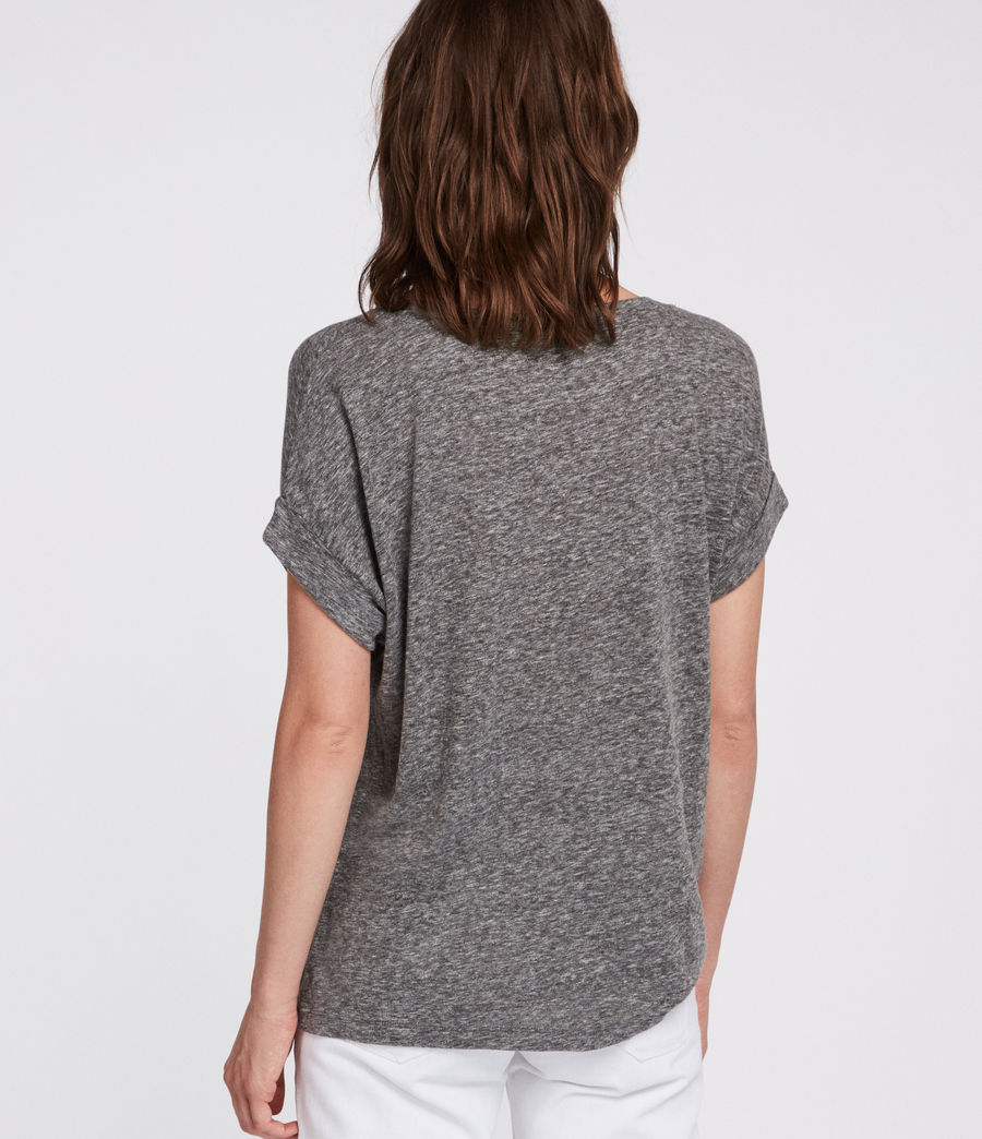 Women's Nyc Imogen Boy T-Shirt (grey_marl) - Image 4