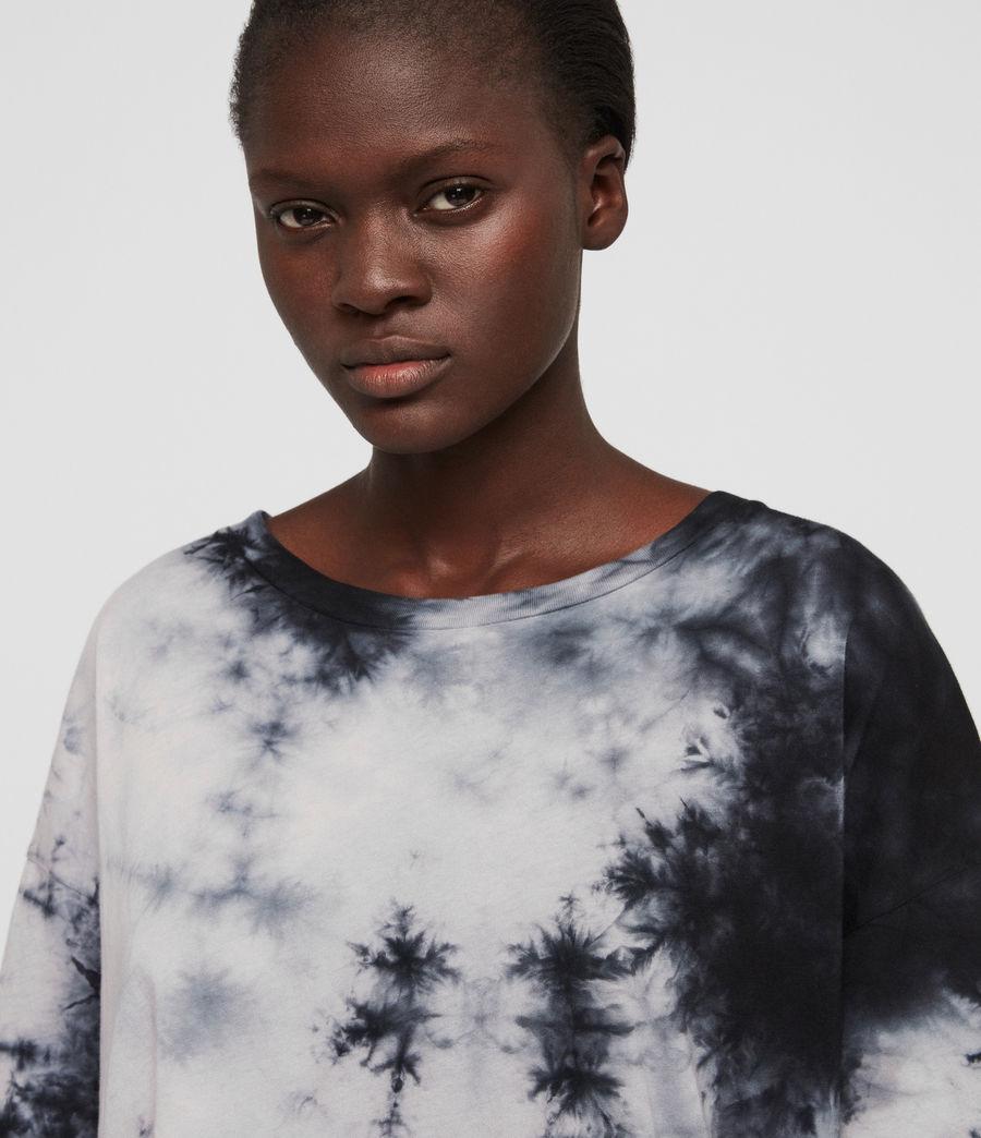 Damen Dyetie Cori T-Shirt (ink_blue_pale_grey) - Image 3