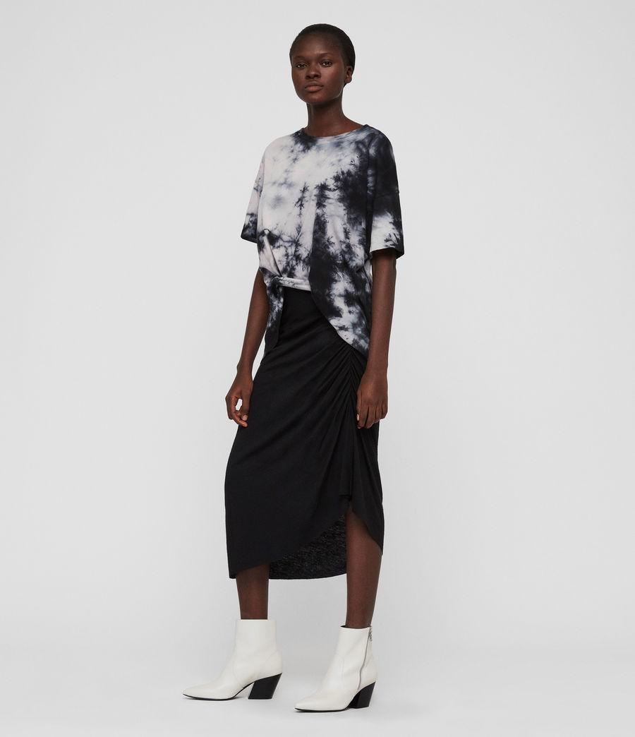 Damen Dyetie Cori T-Shirt (ink_blue_pale_grey) - Image 5