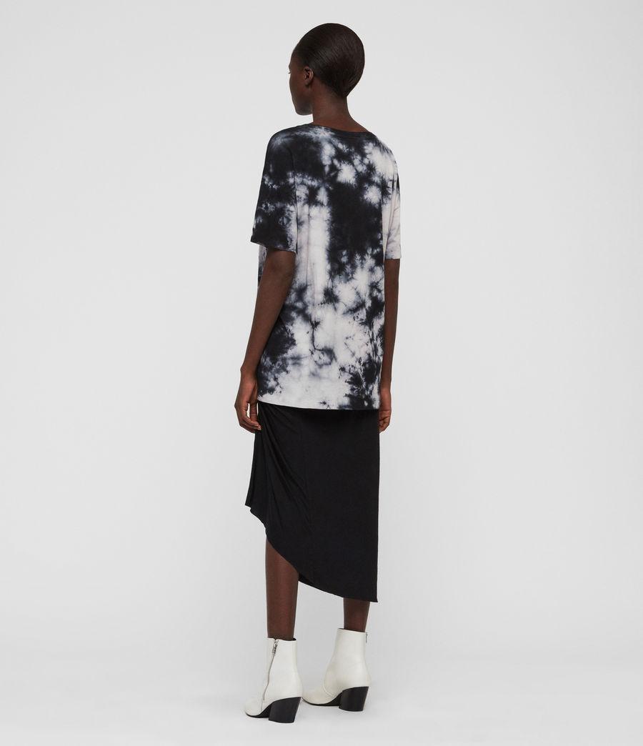 Damen Dyetie Cori T-Shirt (ink_blue_pale_grey) - Image 6