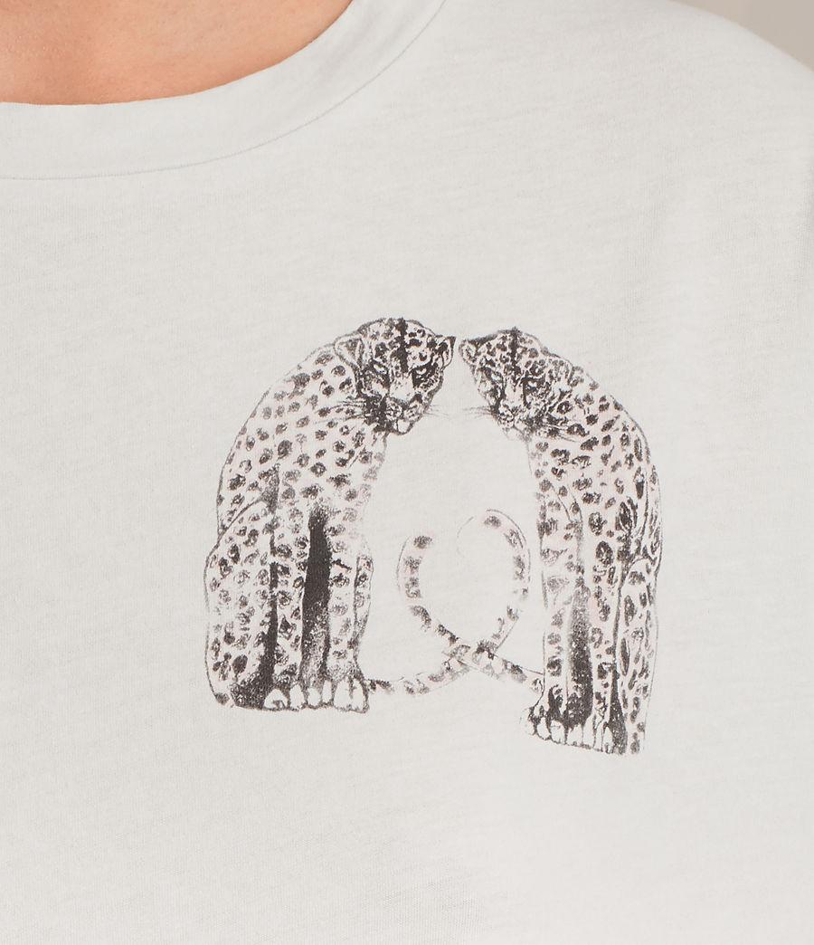 Womens Cheetah Cori Tee (chalk_white) - Image 2