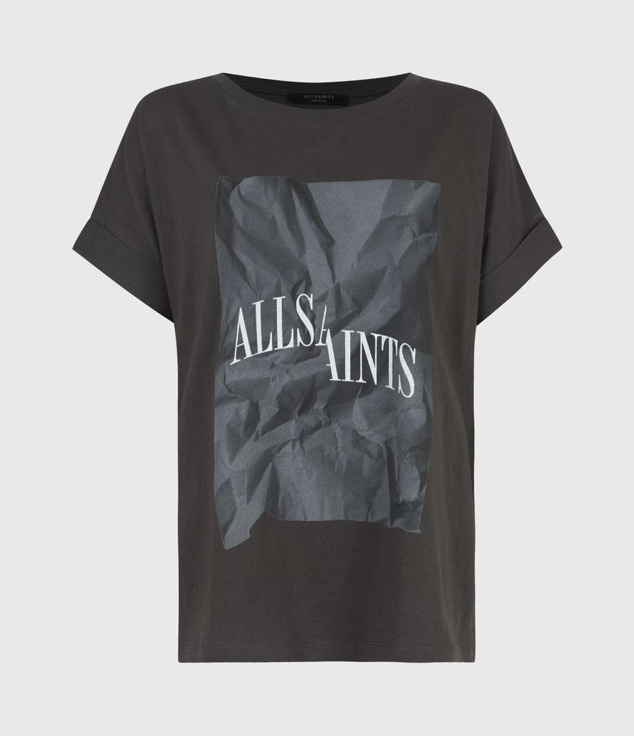 Damen Brecon Imogen Boy T-Shirt (washed_black) - Image 2
