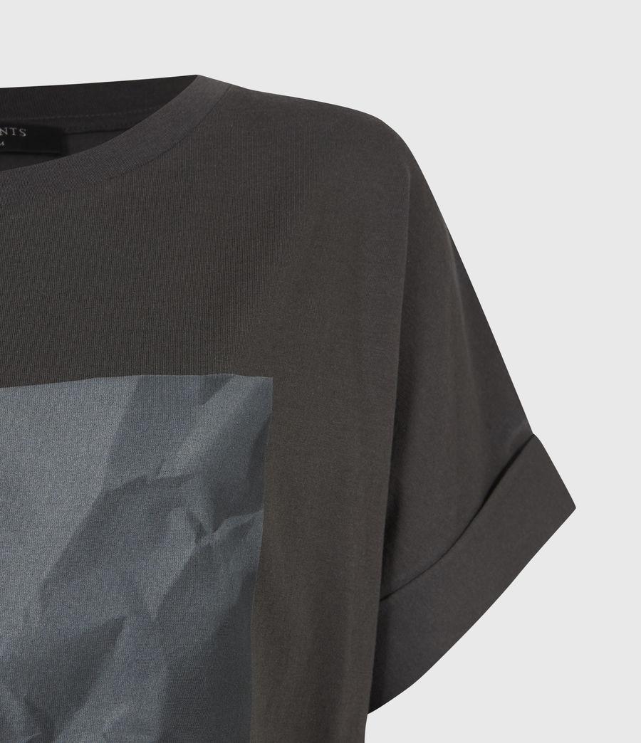 Damen Brecon Imogen Boy T-Shirt (washed_black) - Image 5