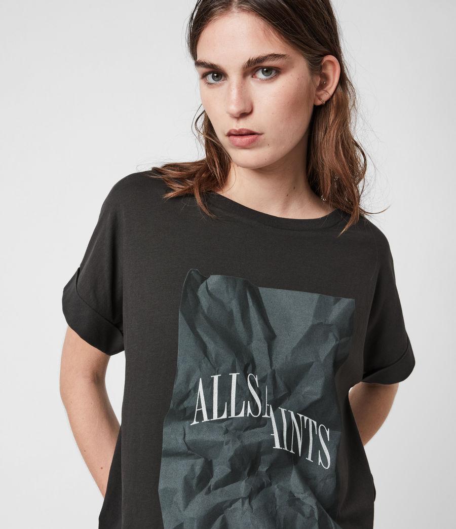 Damen Brecon Imogen Boy T-Shirt (washed_black) - Image 7