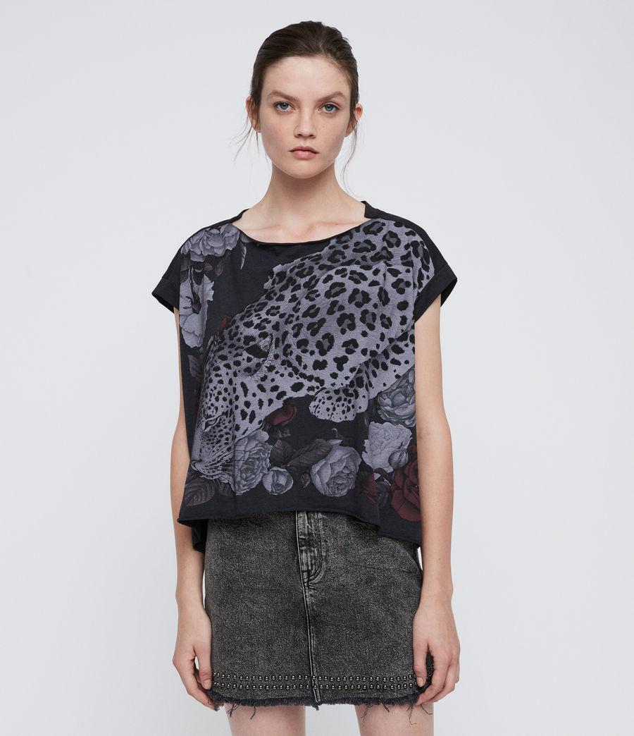 Women's Asha Pina T-Shirt (dark_night_blue) - Image 1