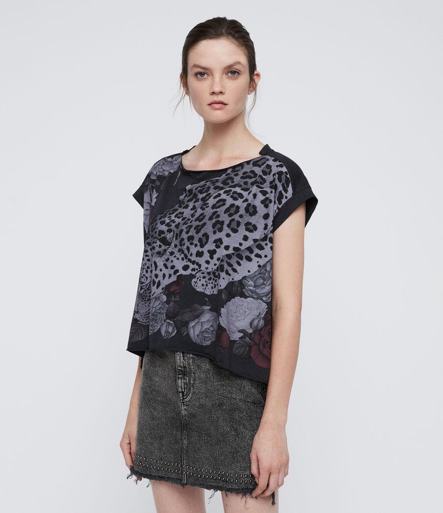 Women's Asha Pina T-Shirt (dark_night_blue) - Image 4