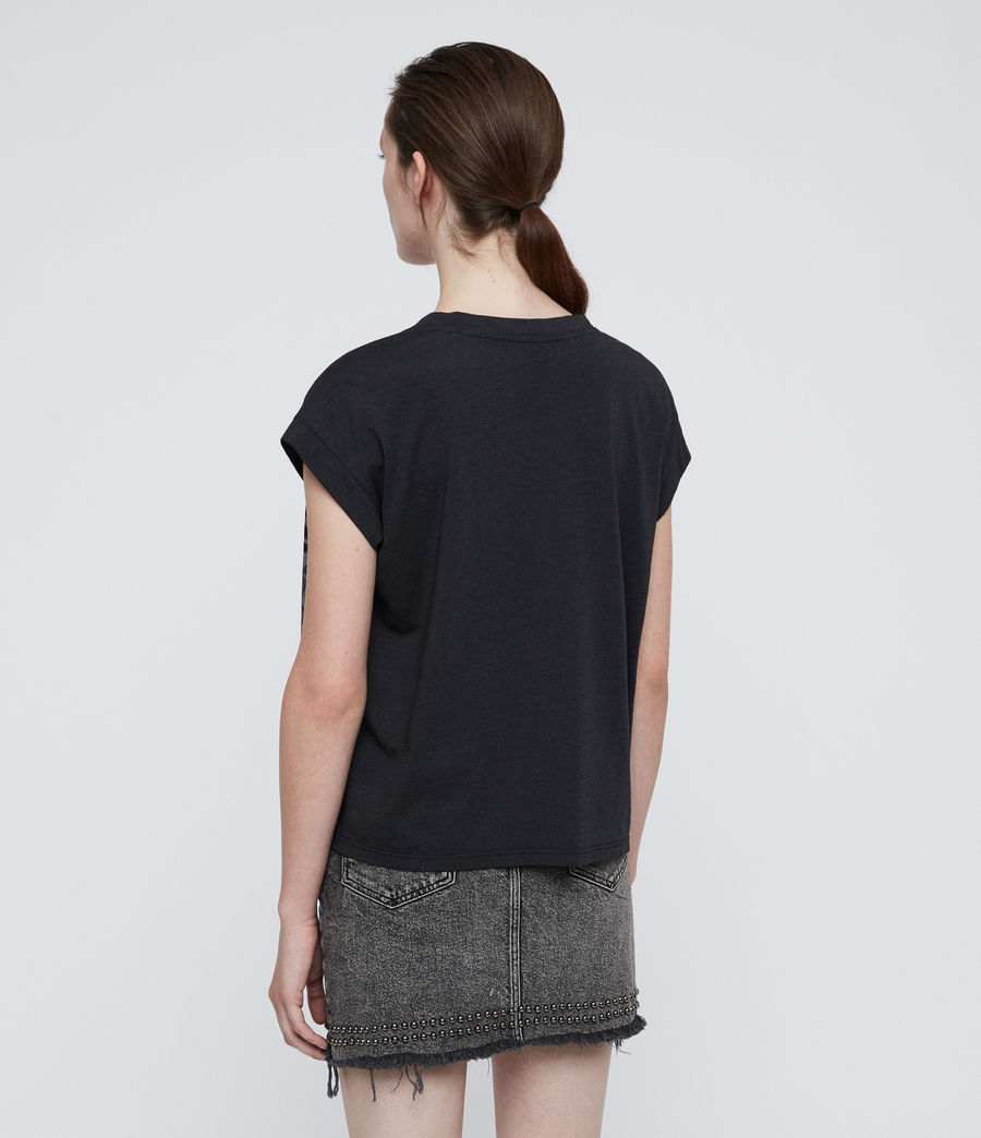Donne Asha Pina T-Shirt (dark_night_blue) - Image 5