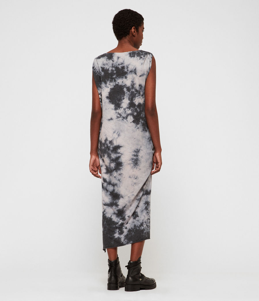 Damen Dyetie Riviera Kleid (ink_blue_pale_grey) - Image 5