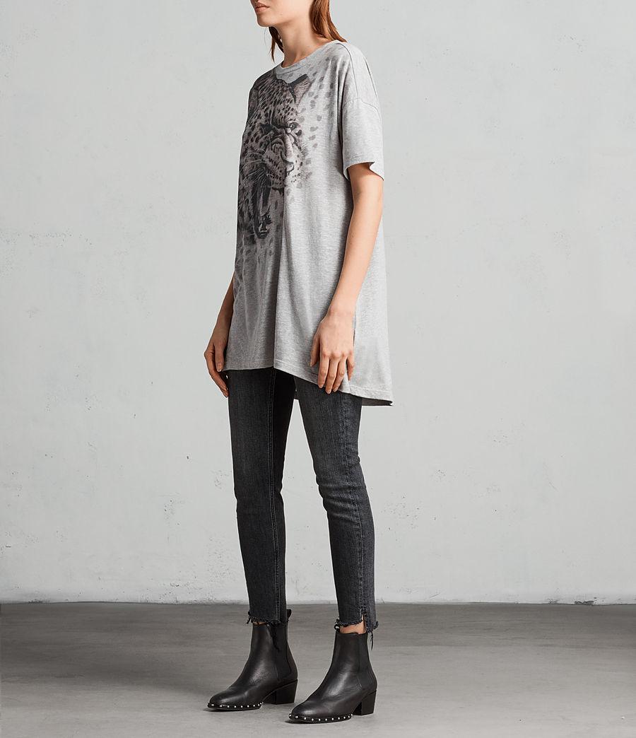 Women's Sabre Cori T-Shirt (grey_marl) - Image 2